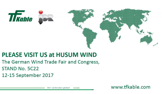 TFKable and JDR to present at HUSUM WIND